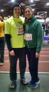 My wife and I before one of our monthly 5Ks.